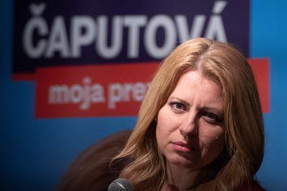Zuzana Caputova, figure pro européenne est la favorite de l'élection présidentielle en Slovaquie
