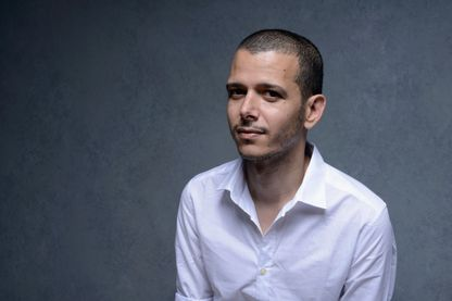 Abdellah Taïa, écrivain et cinéaste, le 10 septembre 2013 à Toronto (Canada).