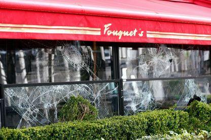 Le restaurant Fouquet's après le samedi 17 mars 2019