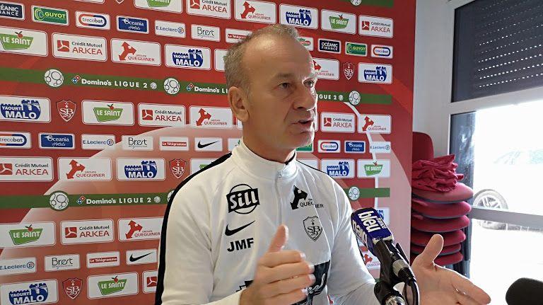 Jean-Marc Furlan, entraîneur du Stade Brestois