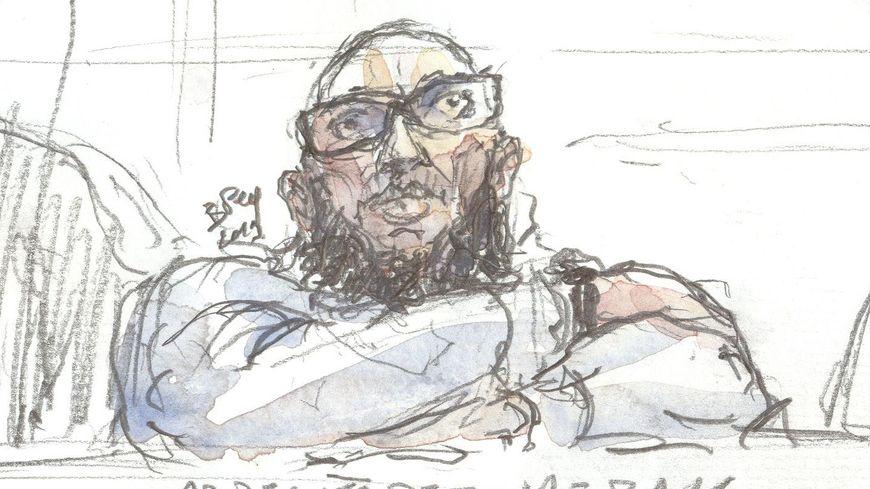 Abdelkader Merah, à l'ouverture du procès en appel.