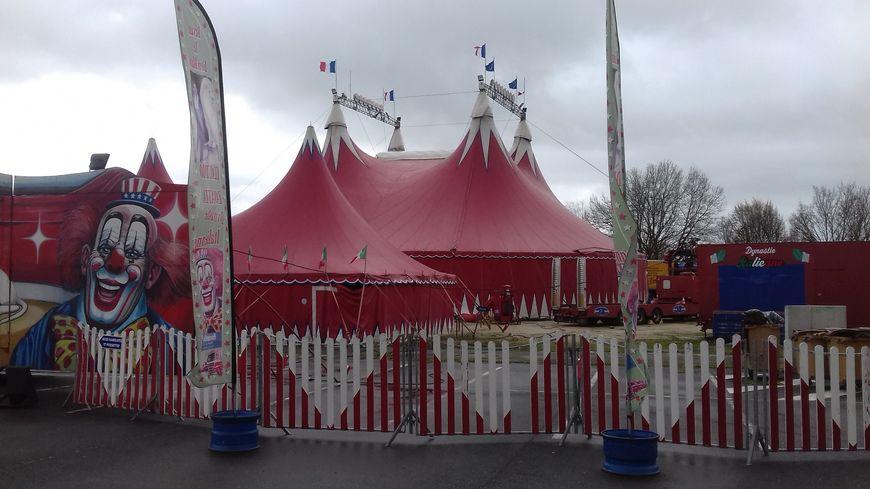Le cirque Zavatta était à Cognac depuis le 6 mars