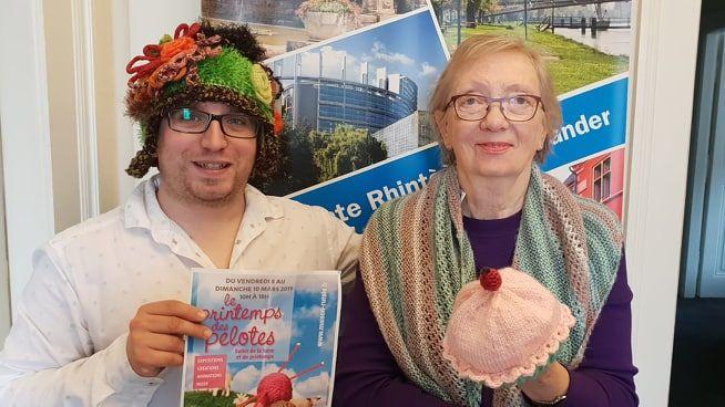 Denise Kayser avec Jonathan Wahl
