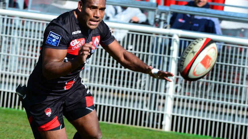 Mosese Ratuvou pourrait retrouver la Pro D2 avec Rouen, lui qui l'a connue avec Lyon et Pau