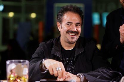 José Garcia, acteur de cinéma et humoriste franco-espagnol (21 novembre 2016, Lille, France)