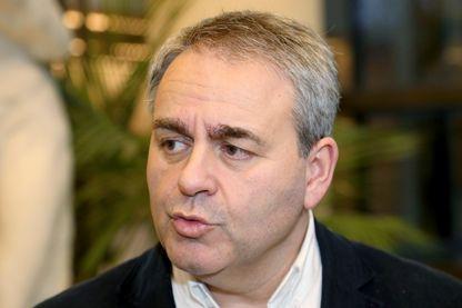 Xavier Bertrand, président de la région des Hauts-de-France