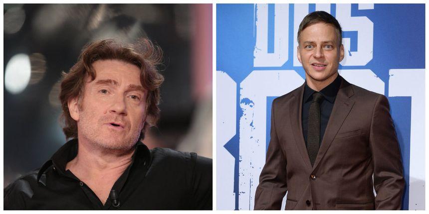 L'acteur français Thierry Frémont (à gauche) et l'acteur allemand Tom Wlaschiha (à droite) font partie du casting