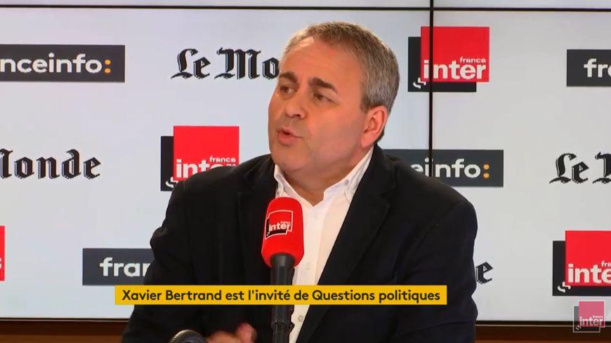 Xavier Bertrand, invité de Questions politiques ce dimanche 17 mars 2019