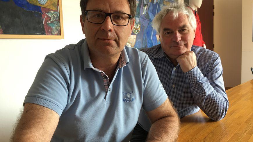 Le patron Jean-Guy le Floch (à droite) a décidé d'opter définitivement pour le carreau
