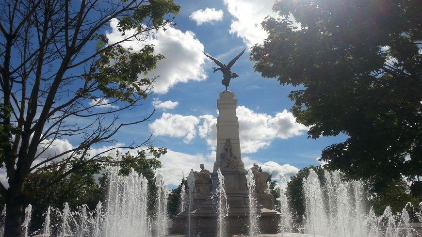 Dijon place de la République. Photo d'illustration.