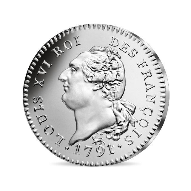 La pièce de 10 euros à l'effigie de Louis XVI