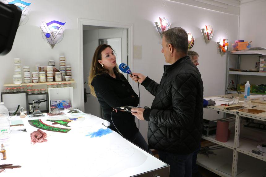 Dans l'Atelier de Nathalie Falaschi