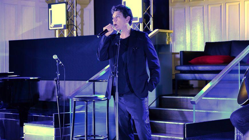 Marc Lavoine FranceBleu Live à Nantes