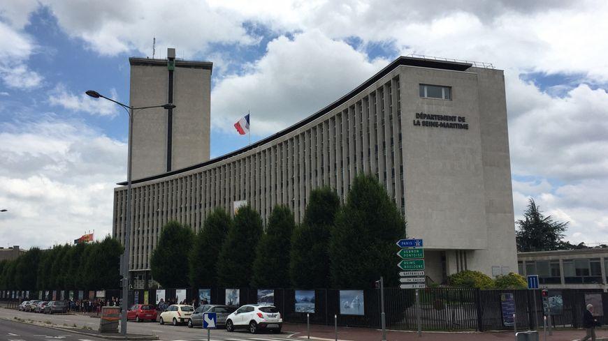 Hôtel du département de Seine-Maritime.