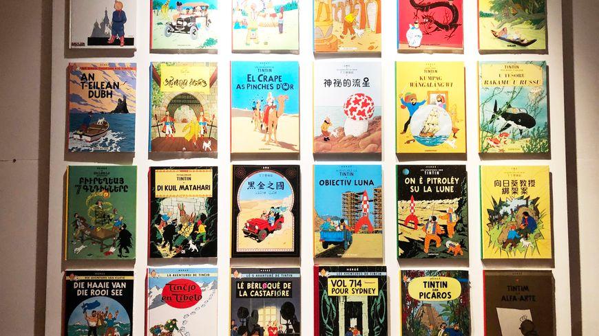 Les albums de Tintin ont été traduits en de nombreuses langues.