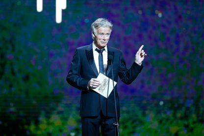 Franck Dubosc, humoriste français, lors de la cérémonie des César 2017 (24 février 2017, Salle Pleyel)