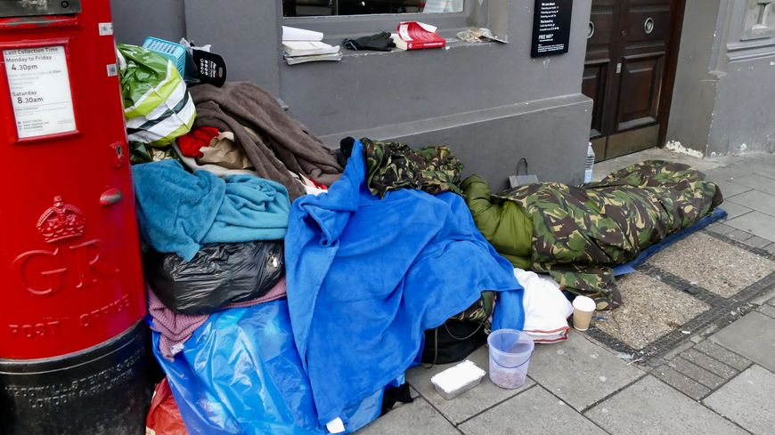 """""""Les morts dans la rue"""" a recensé 566 décès de personnes sans domicile fixe en 2018."""