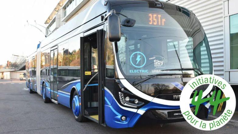 """Ce sont des bus """"tout électriques"""" de ce type qui traverseront dans 4 ans l'agglomération de Limoges"""
