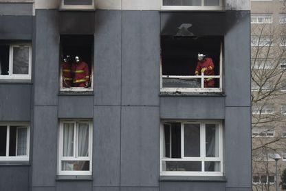 Incendie le 28 décembre 2018 à Bobigny en Seine-Saint-Denis qui a fait 4 morts dont 2 enfants