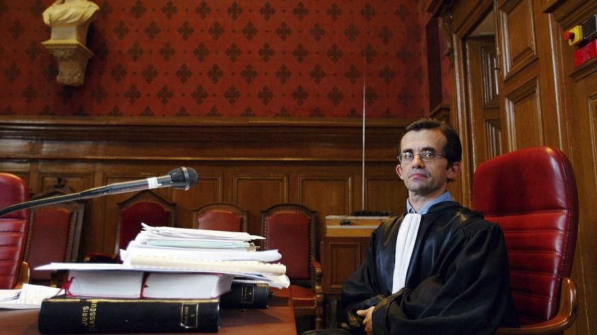 Patrick Keil en poste à Carcassonne en 2004