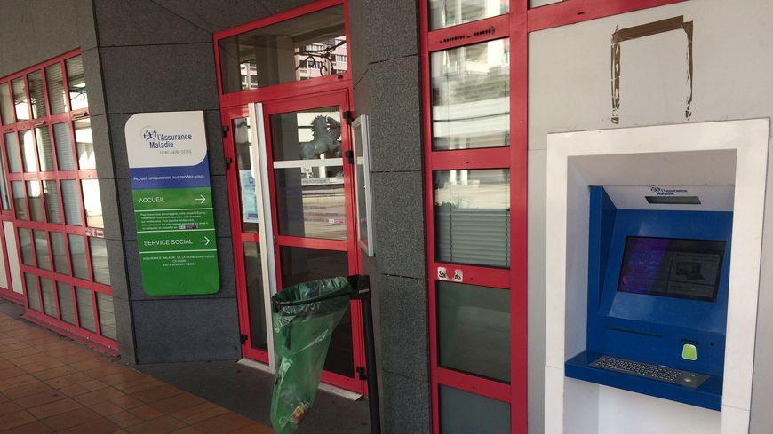 La caisse primaire d'assurance maladie à Epinay-sur-Seine n'accueille que les visiteurs ayant un rendez-vous