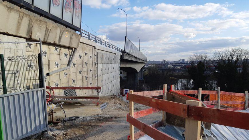 Les travaux du viaduc de Gennevilliers sur l'A15 sont terminés.