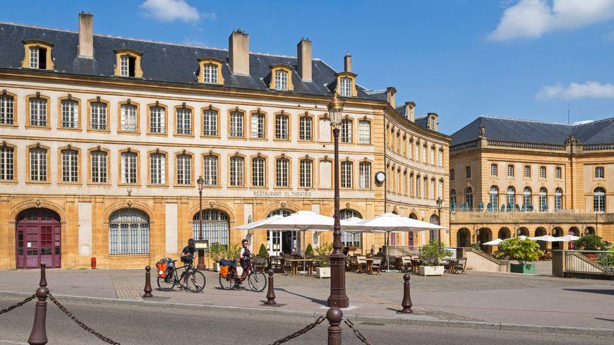 La place de la Comédie à Metz