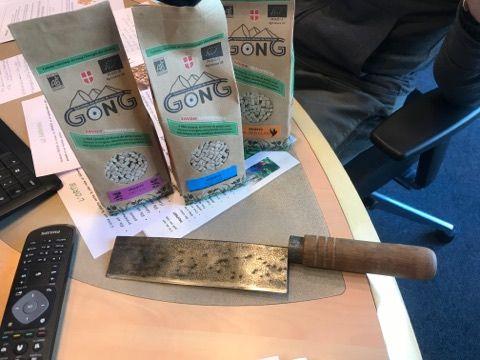 les crozets et les pâtes bio Gong