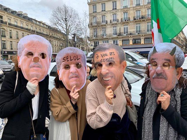 Inès est derrière l'un de ces masques de ces politiques que les Algériens ne veulent plus voir à la tête du pays