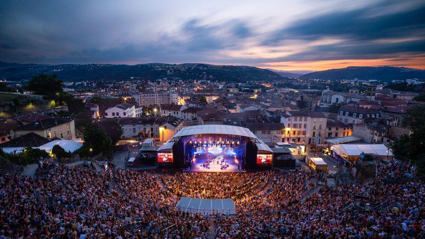 15 soirées sont prévues au théâtre antique de Vienne.