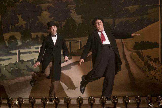 """Steve Coogan et John C. Reilly dans les rôles de Stan Laurel et Oliver Hardy, pour le biopic """"Stan & Ollie"""" (sortie le 06 mars 2019)"""