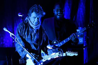 Jean-Louis Murat sur la scène de la salle Poirel, lors du Nancy Jazz Pulsations (2015)