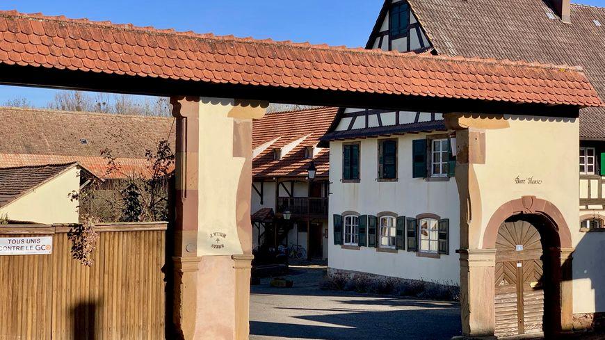 Stutzheim Offenheim, la ferme de Jean