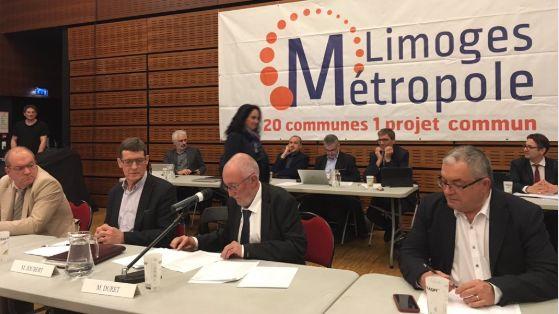 Jean Paul Duret élu président de la communauté urbaine de Limoges
