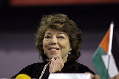 Leïla Shahid, ex déléguée générale de l'Autorité palestinienne en France et ambassadrice de Palestine