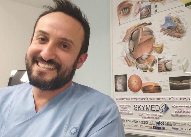 Le docteur David Smadja, ophtalmologue au Shaare Zedek Medical Center de Jerusalem est à l'origine du concept.