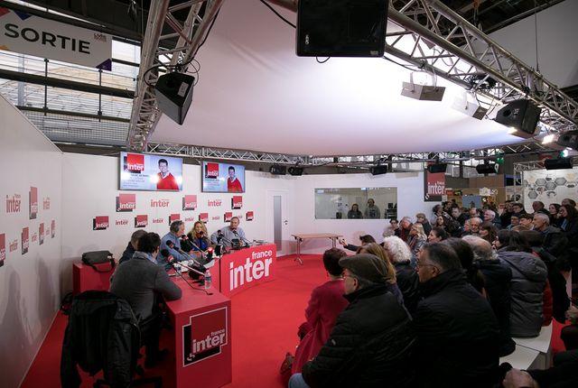France Inter à Livre Paris 2018