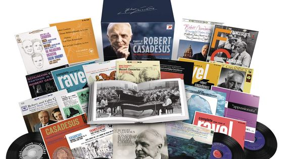 Robert Casadesus - the Complete Columbia Album Collection SONY CLASSICAL