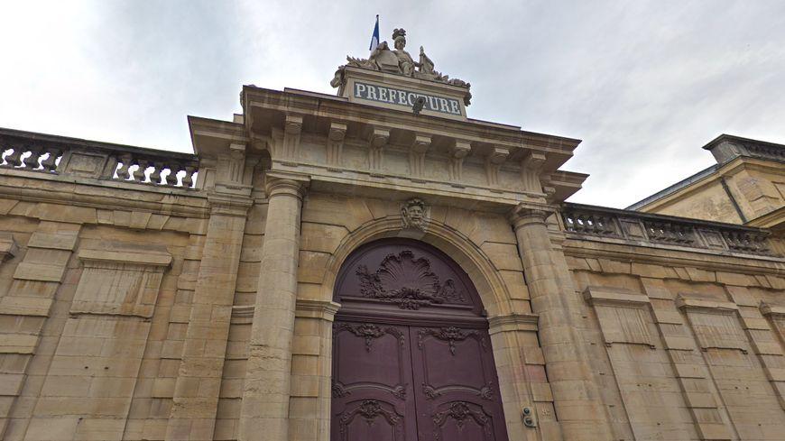 La façade de la Préfecture de Côte-d'Or