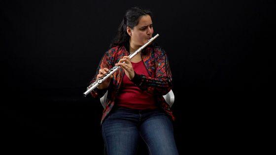Naïssam Jalal, flûtiste et compositrice