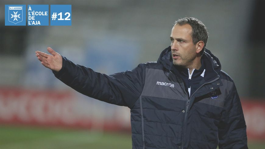 David Carré (ici en décembre 2017) est devenu adjoint de Cédric Daury chez les pros, alors qu'il gère l'équipe réserve, où évoluent plusieurs jeunes du centre de formation.