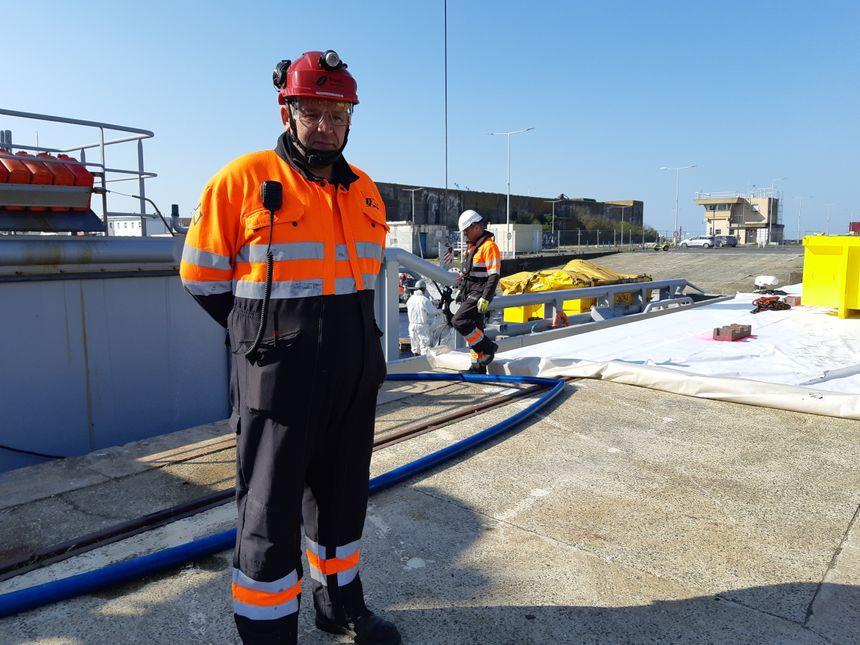 Mickaël Prestavoine, Directeur des opérations industrielles de Séché Urgences Interventions