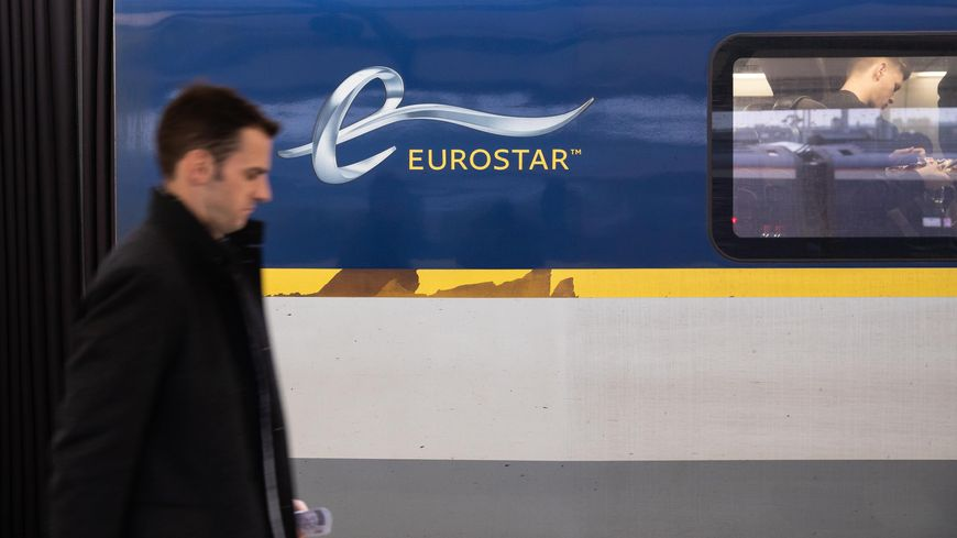 L' Eurostar arrive en savoie pendant les vacances d'hiver