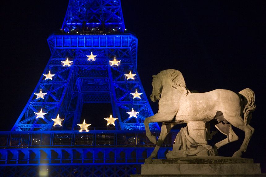 En 2008 pour célébrer la présidence française de l'Union européenne