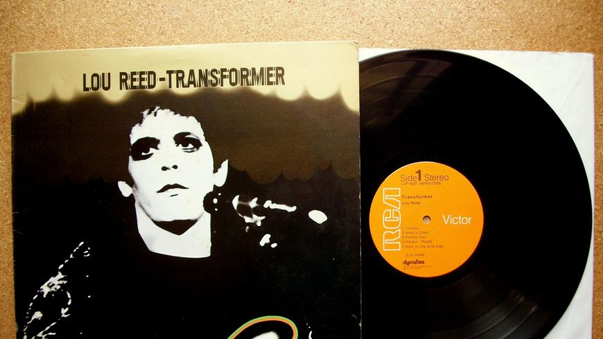 LOU REED Album Transformer sorti en 1972