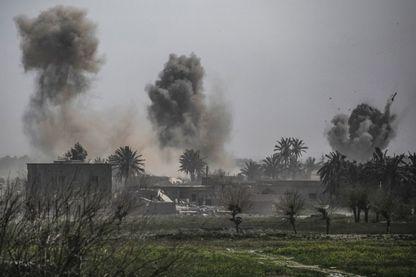 Bombardement sur Baghouz