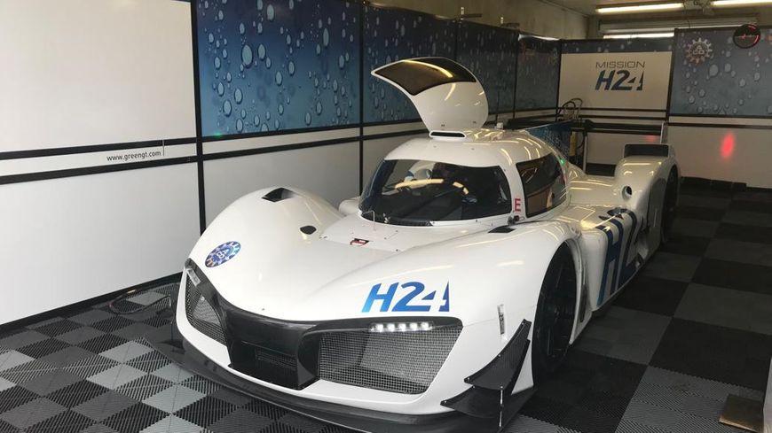 La voiture Mission H24 devrait pouvoir courir sur le circuit des 24 heures du Mans en 2024