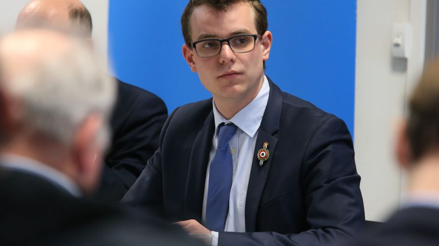 Rémy Dick, le maire de Florange