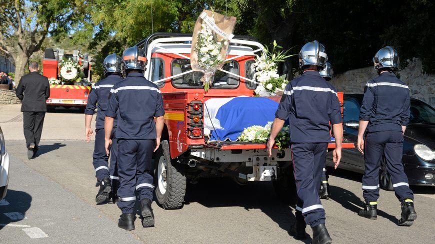 Les obsèques de Jérémy Beier, en septembre 2016
