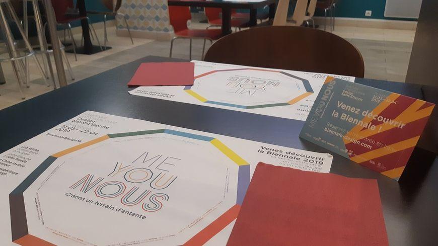 L'Office de tourisme de Saint-Étienne Métropole met à disposition des hôteliers des kits Biennale.